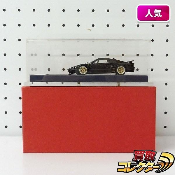 AIMS 1/18 ケーニッヒ フェラーリ 328 GTB / ブラック KOENIG