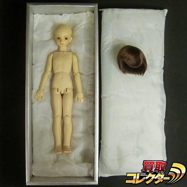 MSD ヘッドNo.27 ロック カスタムメイク 男の子 ウィッグ 箱付き_1