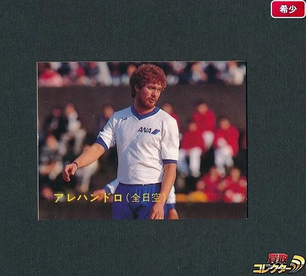 カルビー 日本リーグ サッカー カード 89年 No.110 アレハンドロ