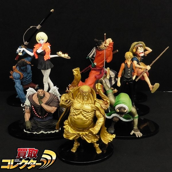 ONE PIECE 造形王頂上決戦 ナイトメア・ルフィ 錦えもん 他