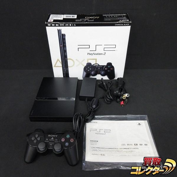 プレイステーション2 SCPH-77000 CB 黒 本体 PS2 箱説有