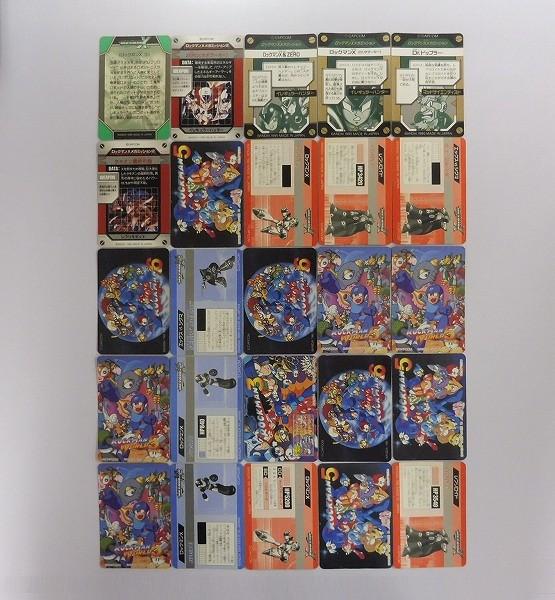 ロックマン 当時物 カードダス 6 5 3 ワールド5 X2 キラ 25枚_2