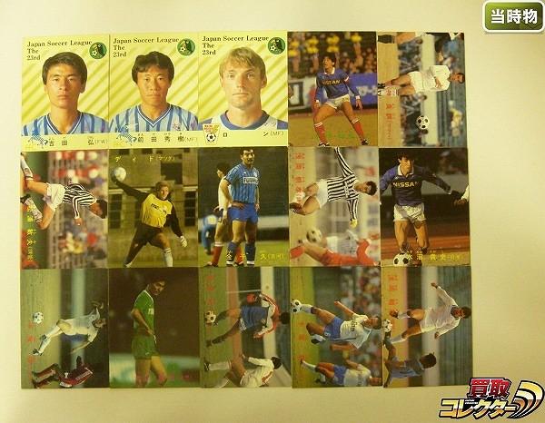 カルビー 当時 日本リーグ サッカー カード 87年 No.2~107 15種