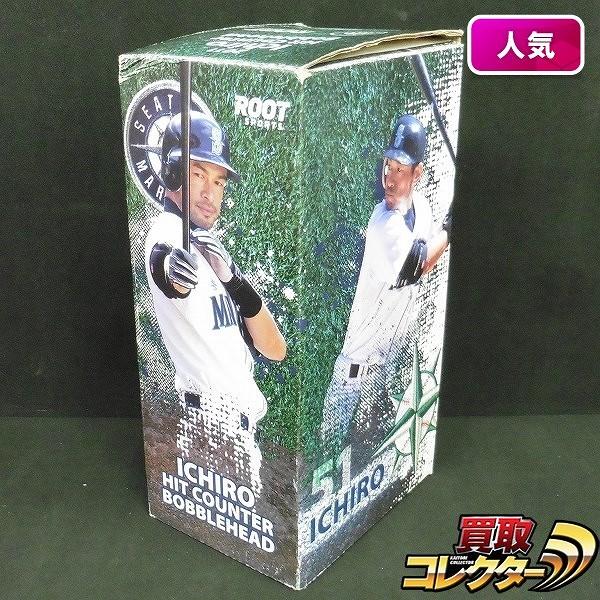 球場配布 2011 イチロー ヒットカウンター バブルヘッド /HIT