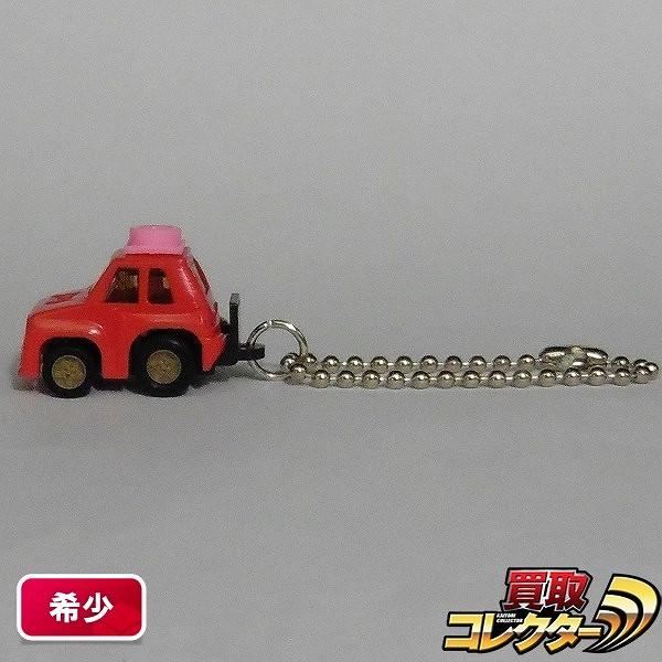 すえっ子チョロQ ルノー5 ターボ 赤 / ピンク 日本製
