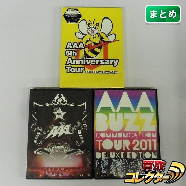 AAA LIVE DVD 6th Anniversary Tour 2011.9.28 at Zepp Tokyo