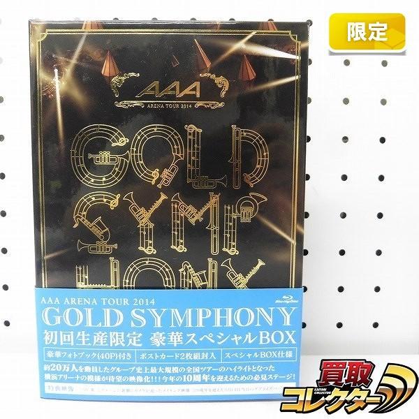 初回限定 Blu-ray AAA ARENA TOUR 2014 Gold Symphony 豪華BOX