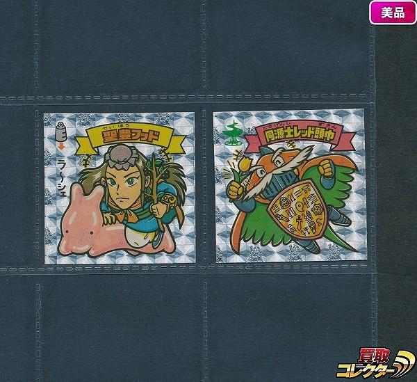 旧 ビックリマン アイス版 第15弾 聖豊フッド 同源士 レッド頭巾