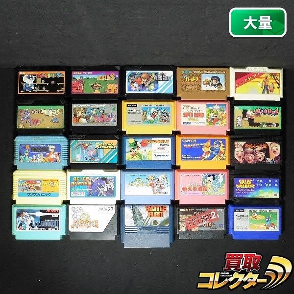 FCソフト ミッキーマウス3 ロックマン4 ドラクエ4 他計25本_1