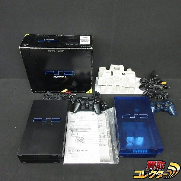 PS2 本体 + 付属品 SCPH-37000 SCPH-50000 計2台 / SONY