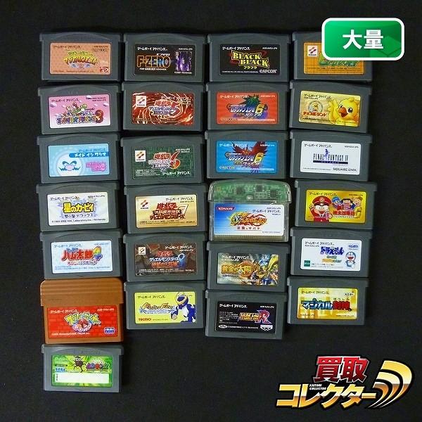GBA ソフト 黄金の太陽 遊戯王 5~8 ロックマン 計25点_1