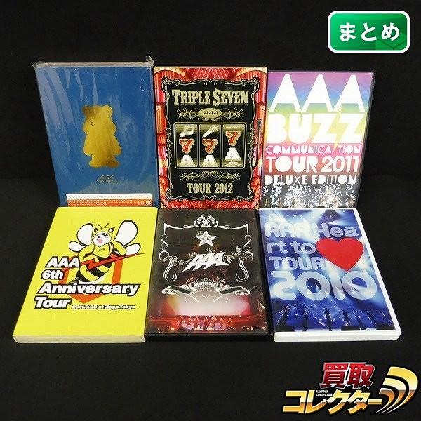 AAA TOUR DVD CD 2012 TRIPLE SEVEN 5TH 6TH 2010 他
