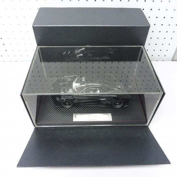 FRONTIART 京商 1/18 Mazzanti EVANTRA ブラック 52台限定_2