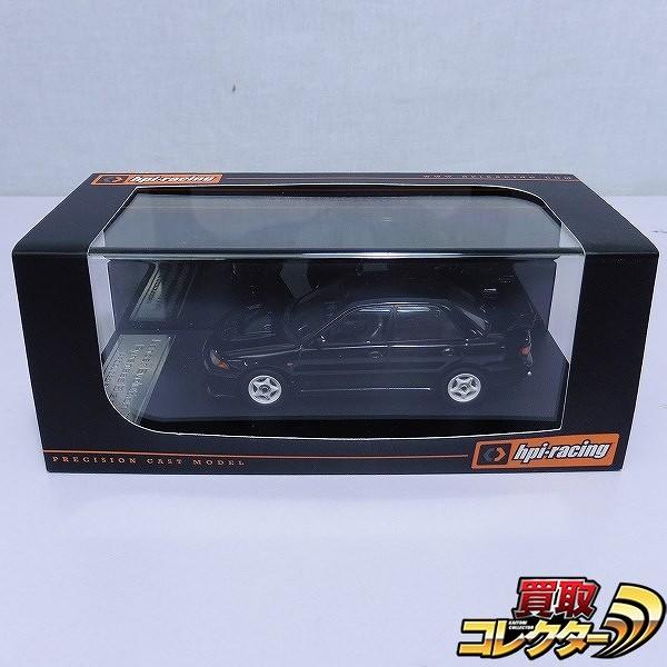 hpi 1/43 ランサー・エボリューションⅢ ブラック / ランエボ 黒_1
