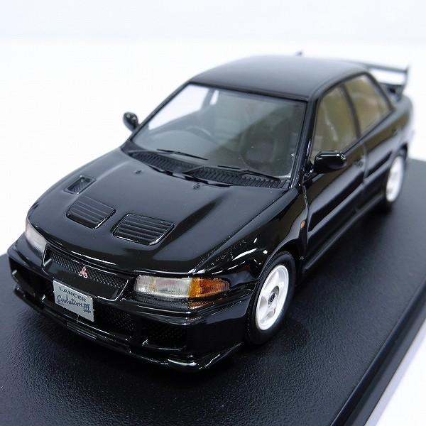hpi 1/43 ランサー・エボリューションⅢ ブラック / ランエボ 黒_3