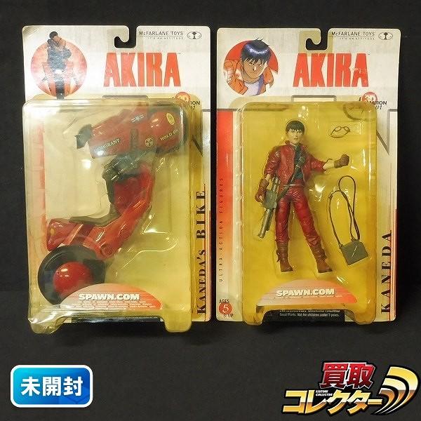 マクファーレントイズ AKIRA フィギュア 金田正太郎 バイク