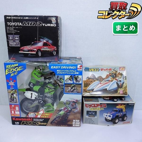 R/C 1/6 カワサキ KX250 ピックアップ レッカー トヨタ MR2 他