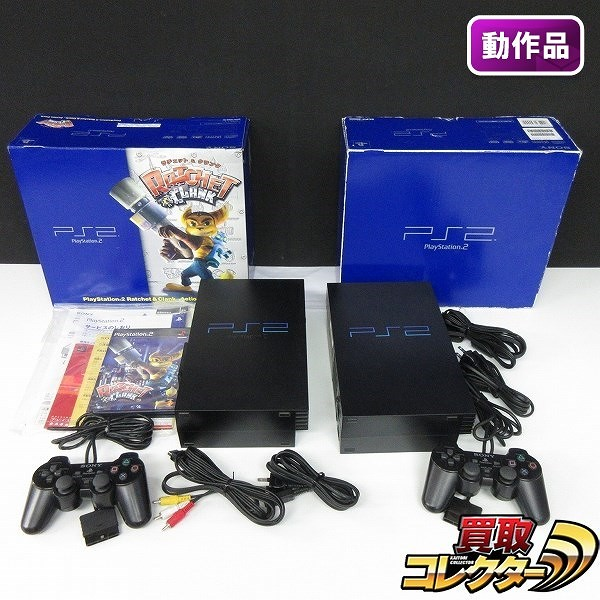 PS2 本体 SCPH39000 SCPH-39000RC / ラチェット&クランク