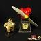 ベネリック 紅の豚 置時計 サボイアS-21 / スタジオジブリ