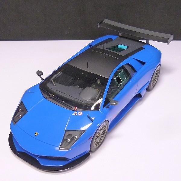 MR 1/18 ランボルギーニ ムルシエラゴ LP670-4 R-SV ブルー_2