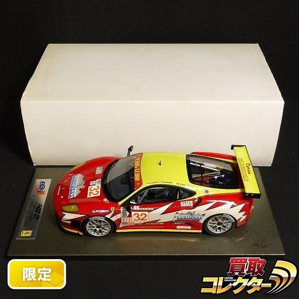 BBR 1/18 フェラーリ F430 GT セブリング 2007 #32 100台限定