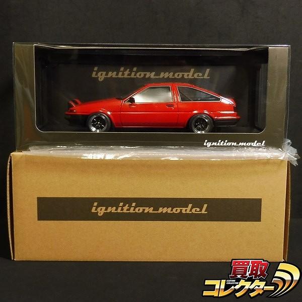 イグニッションモデル 1/18 トヨタ スプリンタートレノ AE86 GTV_1