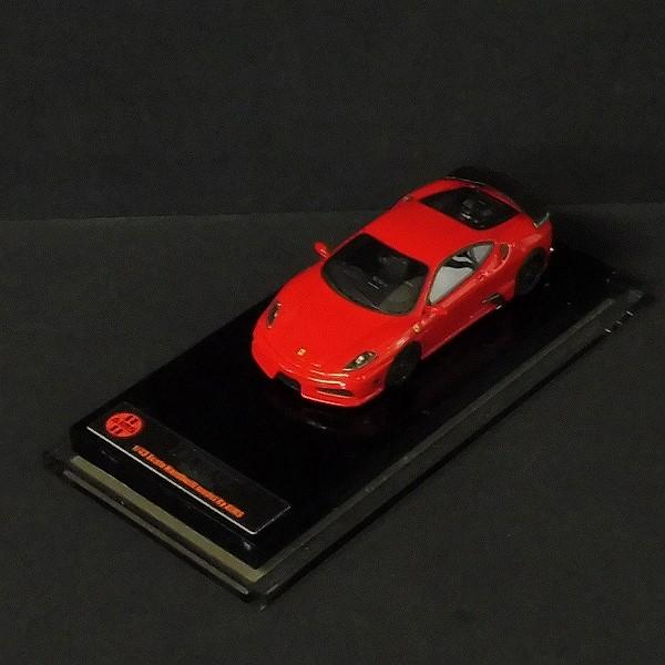 AIMS Models 1/43 フェラーリ F430 Veilside 11/99 レッド 赤_2