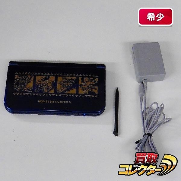 New 3DS LL 本体 モンンハン クロス / 狩猟生活スタートパック