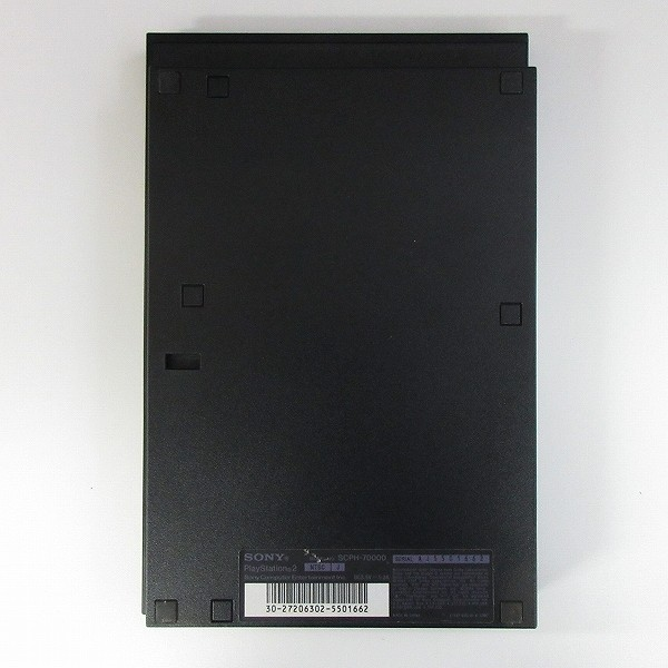 PS2 本体 SCPH-70000 CB 黒 箱説有 / SONY PlayStation_3