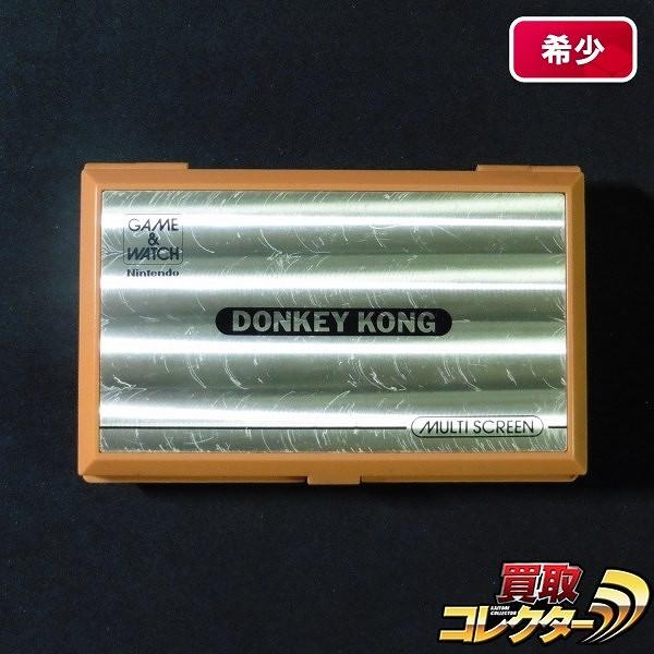 ゲームウォッチ ドンキーコング DK-52 マルチスクリーン Nintendo_1