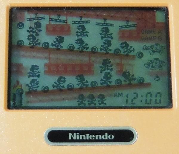 ゲームウォッチ ドンキーコング DK-52 マルチスクリーン Nintendo_3