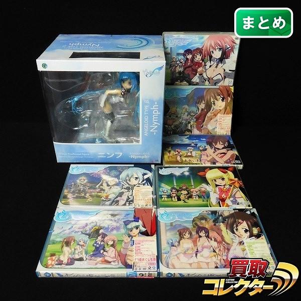 PLUM 1/6 ニンフ フィギュア DVD そらのおとしもの 1~7 全巻