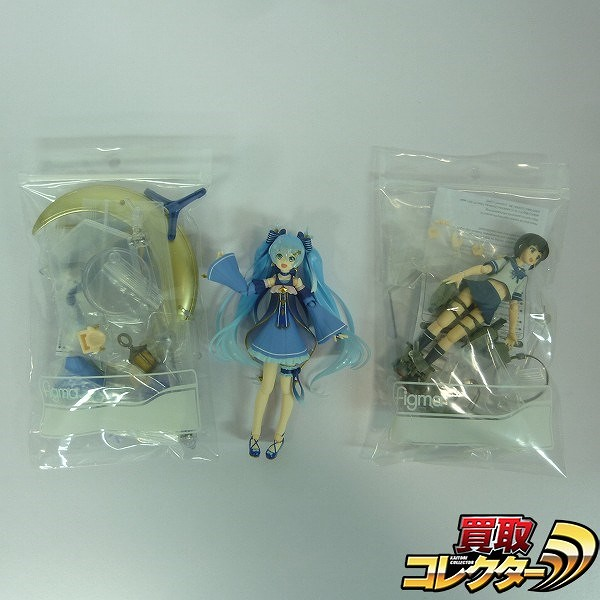 figma 初音ミク Twinkle Show ver. 艦これ 吹雪 Animation ver.
