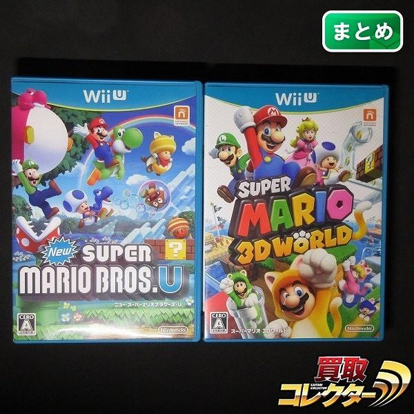 WiiU ソフト Newスーパーマリオ ブラザーズU 3Dワールド