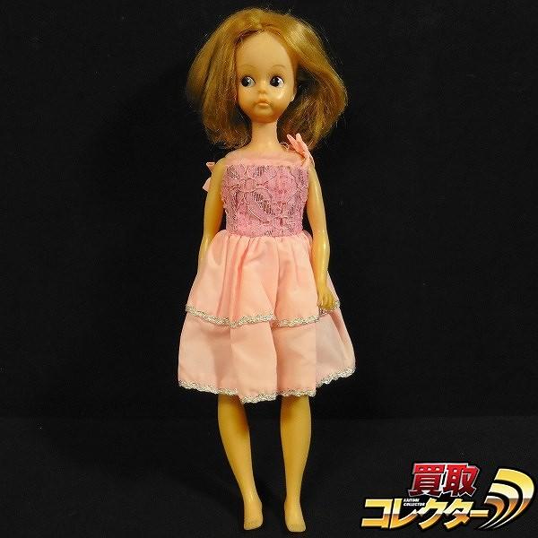 中嶋製作所 スカーレットちゃん セミロングヘア ピンクドレス