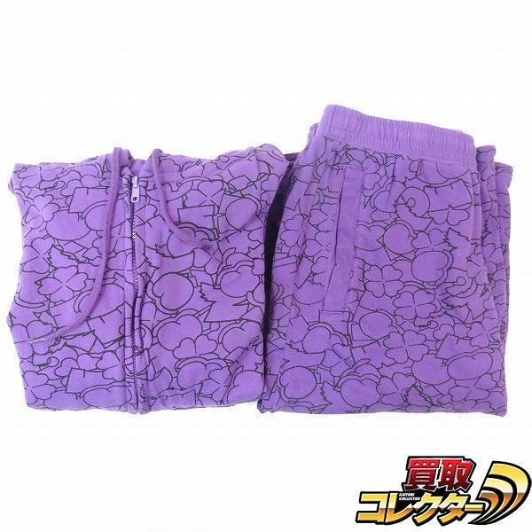 ももいろクローバーZ 公式パーカー 高城れに セットアップ 紫 XL
