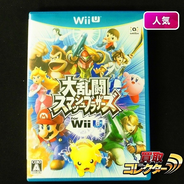 WiiU ソフト 大乱闘スマッシュブラザーズ for Wii U