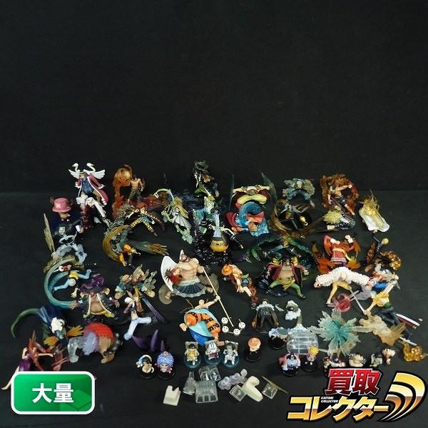 ワンピース DXF 能力者フィギュア ルフィ エース 黒ひげ 他