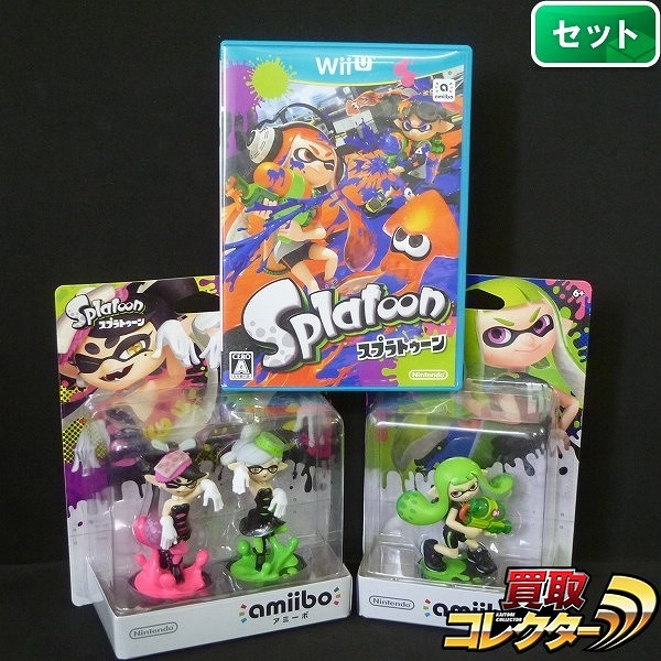 Wii U ソフト スプラトゥーン アミーボ アオリ / ホタル ガール