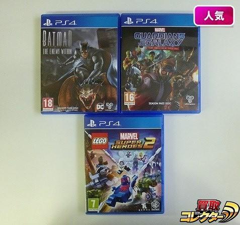 PS4 英語版 3本 BATMAN GUARDIANS OF THE GALAXY 他
