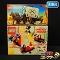 LEGO 4164 ミッキーマウス 消防車 6716騎兵隊のほろ馬車