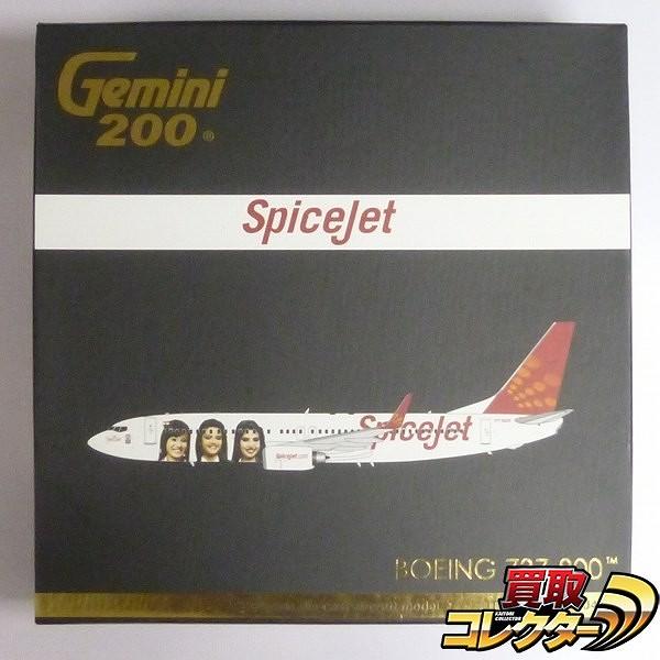 ジェミニ 1/200 スパイスジェット ボーイング737-800