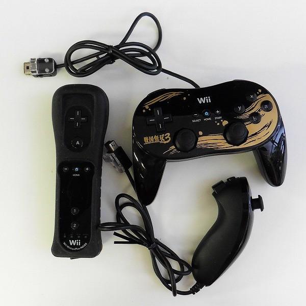 Wii コントローラ Pro 戦国無双3 Ver.  ハンドル ザッパー 等_2