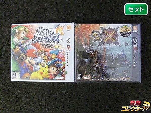 3DS ソフト 大乱闘スマッシュブラザーズ  モンハン クロス 未開封_1