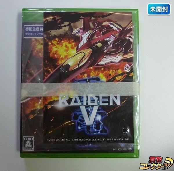 XBOX ONE 雷電V サントラ ポストカード付 / RAIDEN