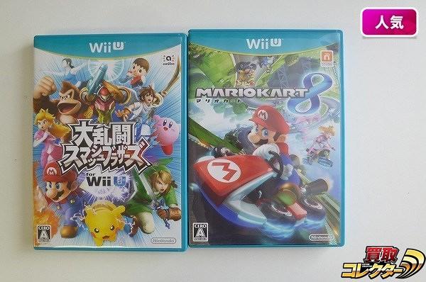 WiiU ソフト 大乱闘スマッシュブラザーズ マリオカート8