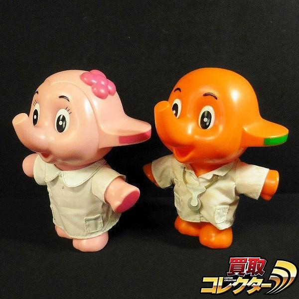 佐藤製薬 ドクターサトちゃん ナースサトコちゃん ソフビ貯金箱