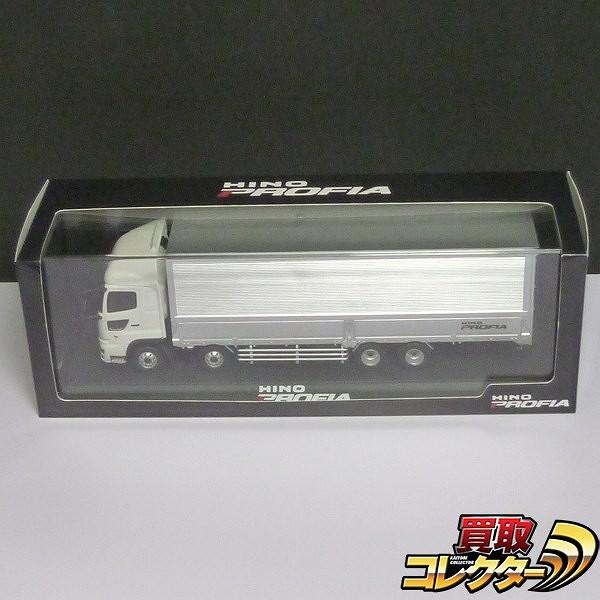 日野自動車特注 1/43 プロフィア ホワイト/シルバー 非売品