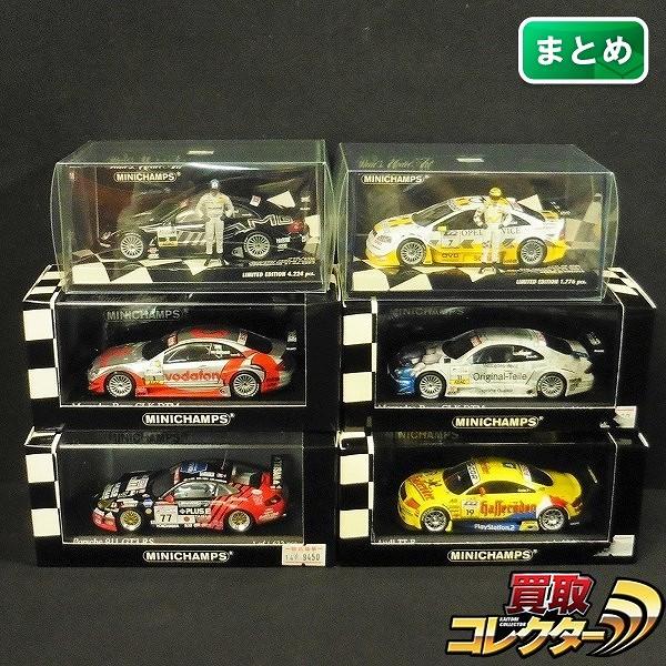 ミニチャンプス 1/43 ポルシェ 911 GT3RS ル・マン 24 2002 他