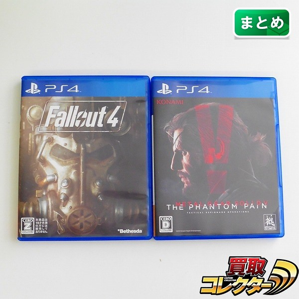 PS4 ソフト Fallout 4  METAL GEAR SOLID V ファントムペイン